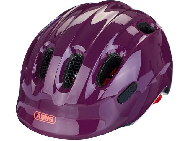 ABUS Smiley 2.1 Casque Enfant, sparkling plum